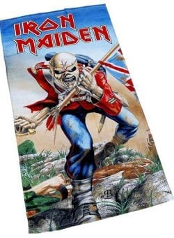 iron maiden ručnik