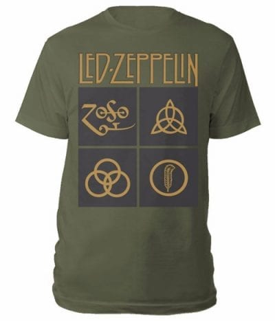 led zeppelin majice