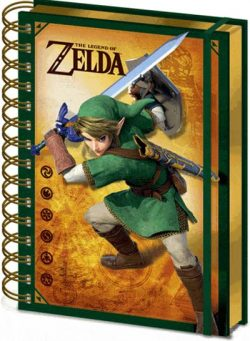 The Legend Of Zelda SPIRALNI NOTES